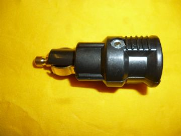 HELLA DIN or CONTINENTAL SIZE DC POWER PLUG 5 AMP for HGV  ETC